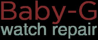 Baby G Watch Repair